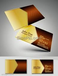 golden abstract honeycomb fashion business card background design