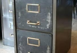 vintage metal file cabinet two drawer file cabinets cool vintage metal modern intended for 15