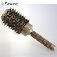 Sisir Roll 53mm keramik iron radial putaran sisir hair dressing salon styling