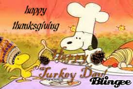 happy thanksgiving from the peanuts picture 76525014 blingee