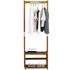 amazon com nnewvante coat rack bench shoes rack hallway hall tree