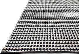 Black White Area Rug Zen Woven Black White Area Rug Reviews Allmodern