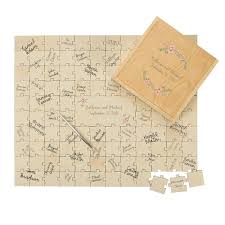 personalized wedding guestbook personalized wedding guestbook puzzle on sale at the wedding