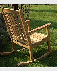 Patio Furniture Des Moines Ia by Outdoor Rocking Chairs 100 Year Legacy Teak Rocker Gardeners Com
