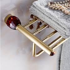 Burgundy Bathroom Accessories by Online Get Cheap Bathroom Accessories Crystal Bathroom Shelf