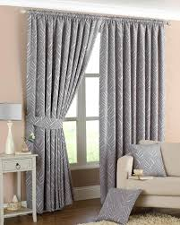 Black Eyelet Curtains 66 X 90 Narrow Leaf Lined Curtains Silver Free Uk Delivery Terrys Fabrics