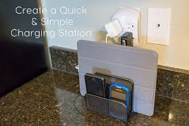 electronic charging station to set up a charging station for multiple electronics ask anna