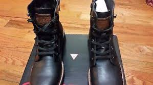 s boots size 11 guess 2 lace up high top s boots size 11 m ebay