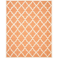 Coral Area Rugs Safavieh Cambridge Coral Ivory 8 Ft X 10 Ft Area Rug Cam312w 8