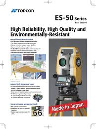 sell a new total station topcon es 55 japan original 081380673290