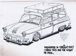 big blue u0027s online carburetor vw coloring book from busfest 6