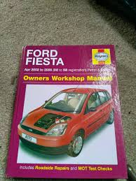 haynes ford fiesta manual in winsford cheshire gumtree
