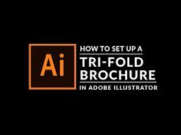 tri fold brochure ai template how to create a trifold brochure in adobe illustrator