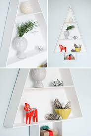 How To Make Tree Bookshelf How To Make A Modern Wooden Christmas Tree Display Shelf Curbly