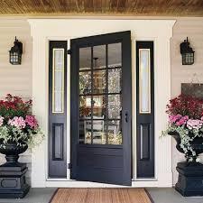 Exterior Door With Window Front Door With Window Home Design Plan