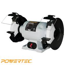 powertec bgss800 slow speed bench grinder