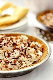 caramel banana pie with bourbon creative culinary
