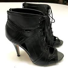 womens boots size 9 rock republic womens boots size 9 black lace up booties heels