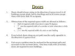 Stair Definition Building Code Egress