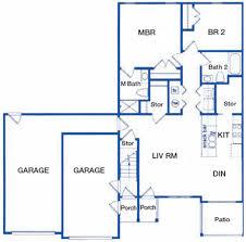 garage floor plans bay pines floor plans