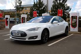 tesla model s charging a semi autonomous road trip in the tesla model s