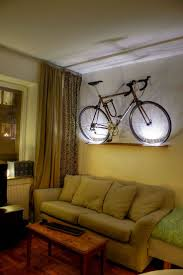 185 best bikespired decor images on pinterest bicycle bicycle bike storage for tiny apartment
