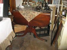 Antique Drop Leaf Dining Table Antique Drop Leaf Table Ebay