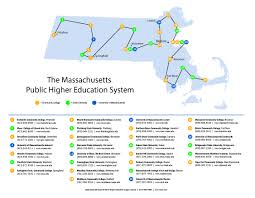 Map Of Mass 2010 08 Map Of Campuses East To West Jpg
