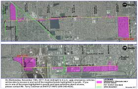 In And Out Map Natural Gas Pipeline Test Begins 11 15 City Of Miami Nextdoor