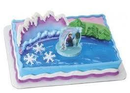 Disney Frozen Anna U0026 Elsa Theme Cake Toronto Online Cake