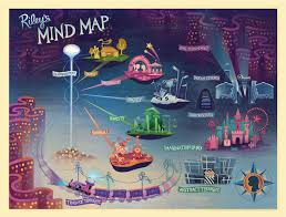 Fau Map Riley U0027s Mind Map March 14 2015 Inside Out 2015 Pinterest