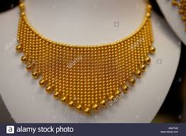 gold necklace photos images Gold necklace dubai stock photos gold necklace dubai stock jpg