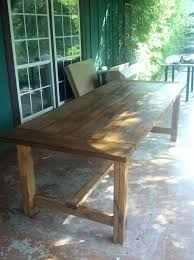 Free Plans For Outdoor Dining Table by Best 25 Outdoor Dining Tables Ideas On Pinterest Patio Tables