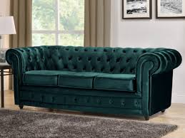 canap 2 places chesterfield interessant canape chesterfield velours 15 canap 3 places