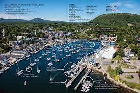 map of camden maine lyman morse boatbuilding metal fabrication thomaston maine