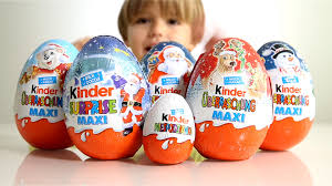 egg kinder 5 big kinder eggs for christmas and a regular kinder egg