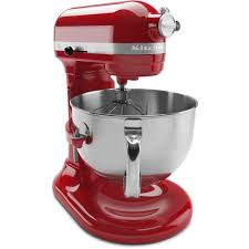 Kitchen Aid Colors by Kitchenaid Professional 600 Series 6 Qt Empire Red Stand Mixer