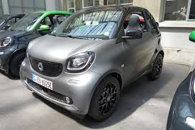 first drive 2017 smart fortwo cabrio electric drive automobile
