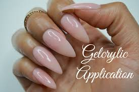 how to gel nails sheba nails gelcrylic system super easy at