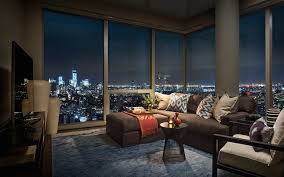 night view from tom brady u0027s apartment in new york houses