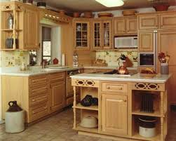 colonial kitchen design with distressed cabinets colonial