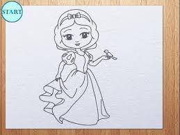 draw snow white