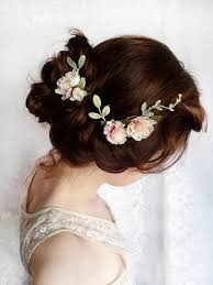 flower hair accessories flower hair wedding wedding corners