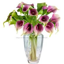 Silk Calla Lilies Purple Silk Calla Lilies Online Shopping The World Largest Purple