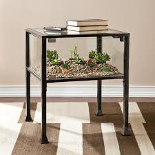 harper blvd display terrarium side end table free shipping