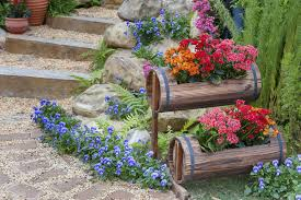 Potted Plant Ideas For Patio by 64 Outdoor Steps With Flower Planters And Pots Ideas Pictures