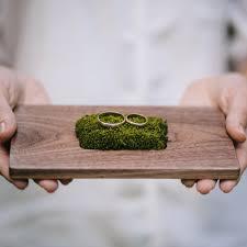 wedding ring holder woodstorming ring bearer box ring bearer pillow wooden