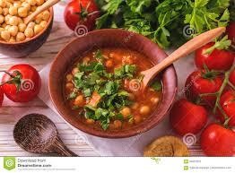 jüdische küche suppe harira mit feigen ramadan lebensmittel traditionelle