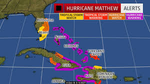 Map Of Florida And Bahamas by Hurricane Watch Expanded In Florida As Hurricane Matthew Heads For