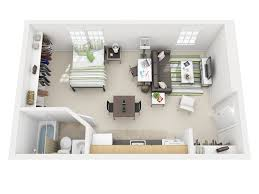 Floor Plans For Studio Apartments by University Village Studio Apartments Osu Student Rentals